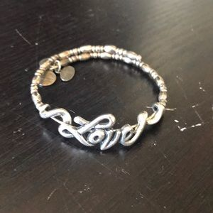 Alex and Ani wrap Love Bracelet